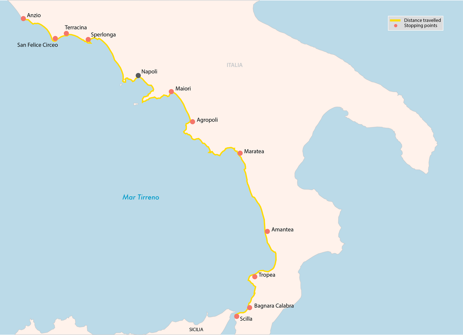 From Marseille to Scilla (part 2)