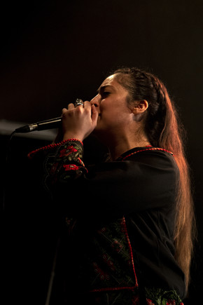 Shadia Mansour _ Festival Palest'IN&OUT