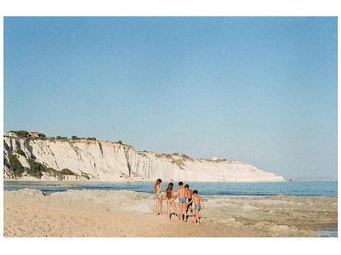 Postcard 13x18cm - Scala dei Turchi