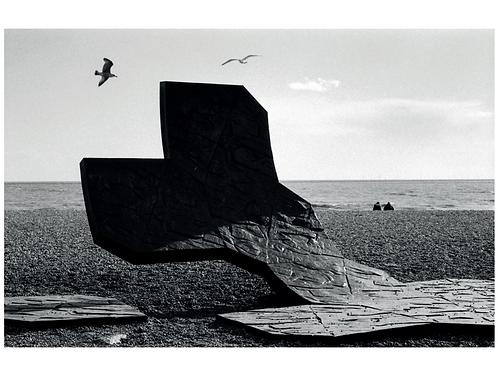 Postcard 13x18cm - Brighton Beach