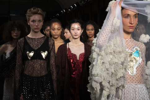 Anais Jourden SS20 - Paris Fashion Week