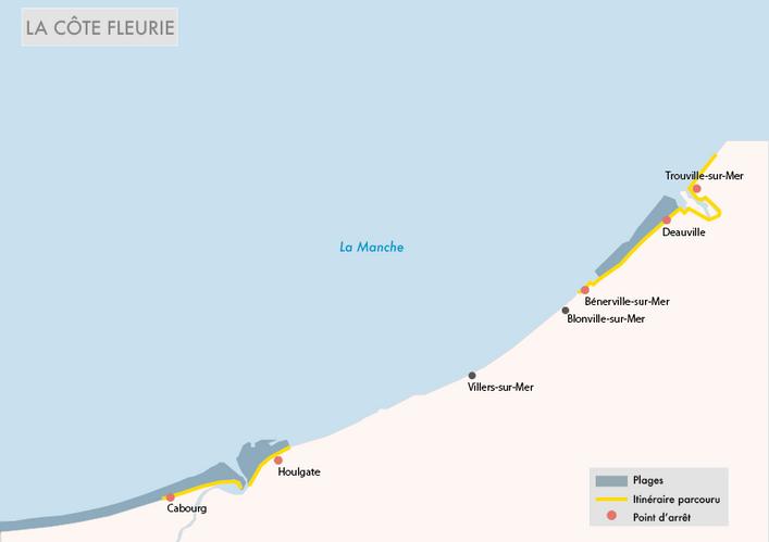 Côte Fleurie - Normandie