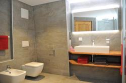 App. Lärche - badkamer