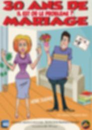 Affiche A3 - 30 ans de mariage.... (norm