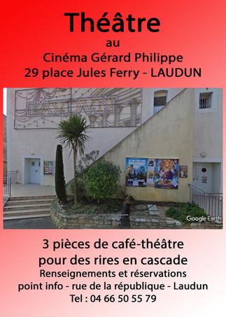 Théâtre au Cinéma Gérard Philippe de Laudun