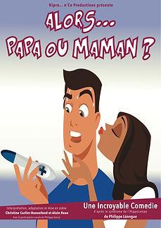 Affiche A3 - Papa ou Maman.... (original
