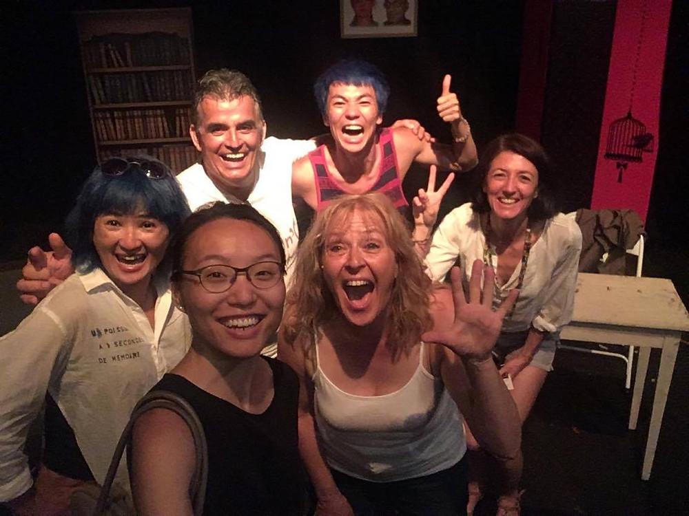Avec nous, May Yu-Suk Mei, Lam Tsz Kit Ronald et Shek Wai Ting de Hong Kong !!!