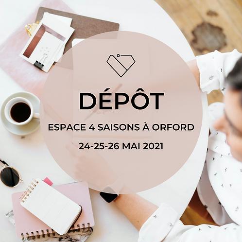 Dépôt - Lac-à-l'épaule Mai 2021