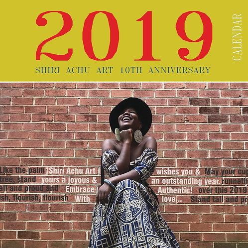 2019 Calendar Shiri Achu Art 10th Anniversary