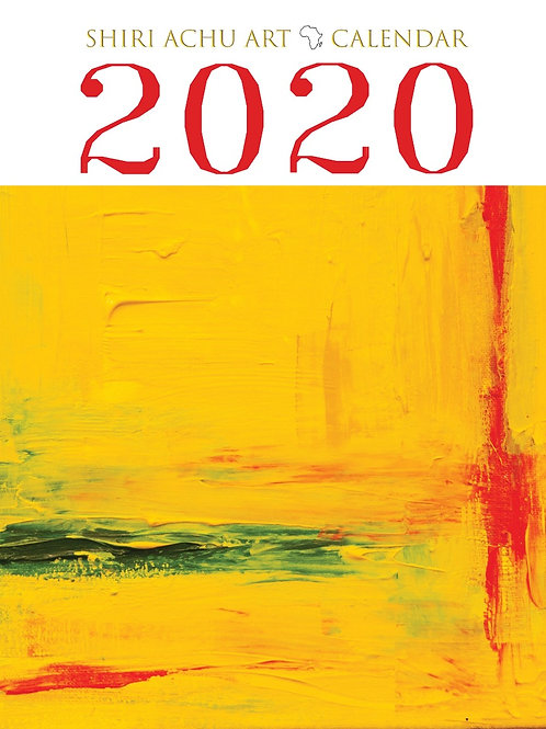 2020 Calendar Shiri Achu Art