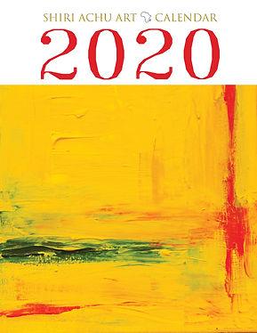 ShiriAchuArt 2020 Calendar Front Cover_e