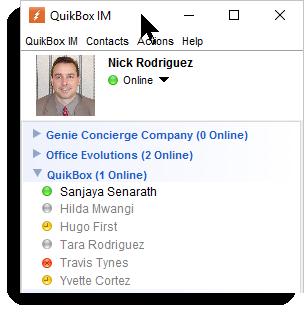 QuikBox IM Member Availability
