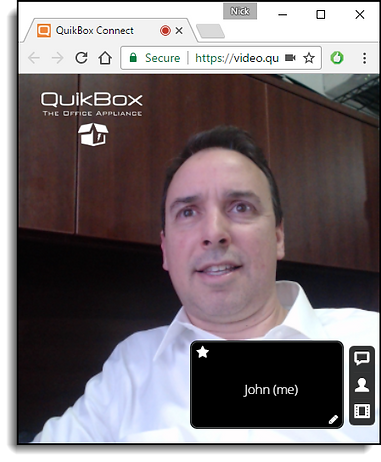QuikBox IM - Video Conference Integration