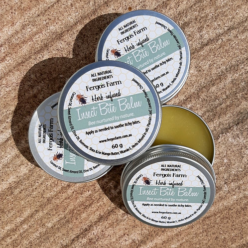 Herb-infused Insect Bite Balm