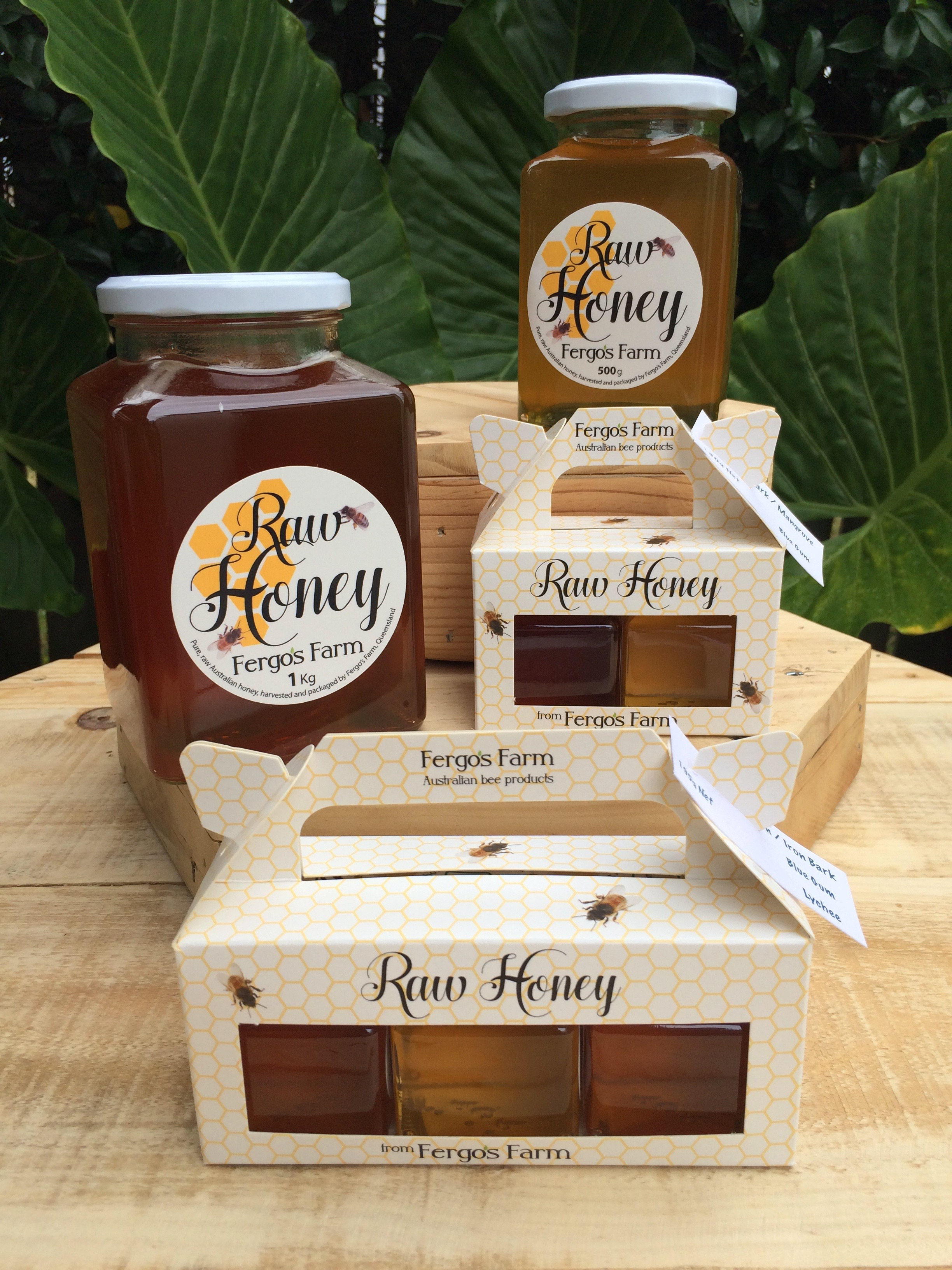 Specialty honey range