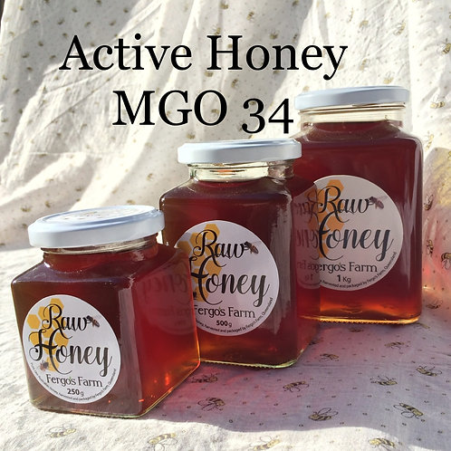 Active Raw Honey
