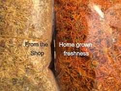 Fresh is best.