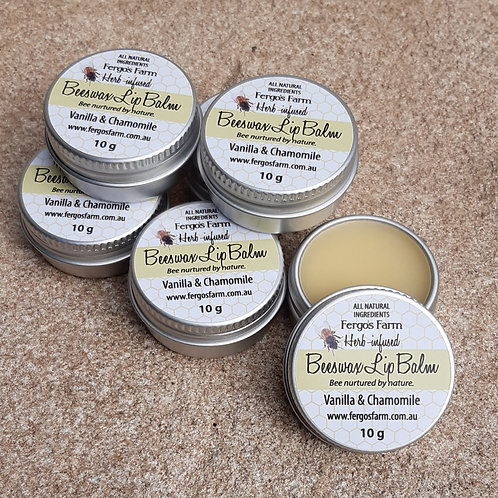 Herb-infused Lip Balm