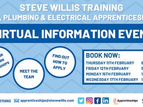 Steve Willis - Gas, Plumbing, Electrical Apprenticeships