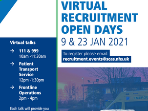South Central Ambulance Service Virtual Recruitment