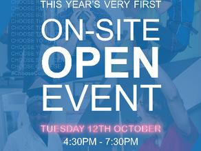 St Vincent College Open Event