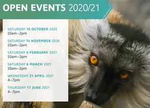 Sparsholt College 2020/21 Open Events