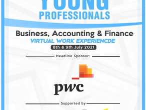 Young Professionals - Virtual Work Experience in Business, Accounting & Finance