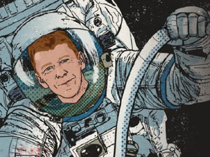 Join an exclusive Q&A session for young people with astronaut Tim Peake