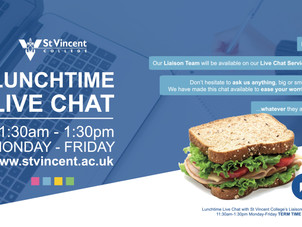 St Vincent College Live Chat