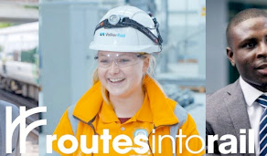 Routes Into Rail > Time to get your career in motion?