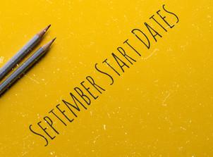 September Term Dates
