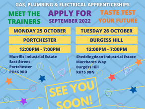 Steve Willis Training Open Day - Gas Engineering or Electrical Installation Apprenticeships