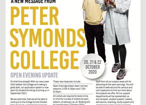 Peter Symonds Open Evening Update
