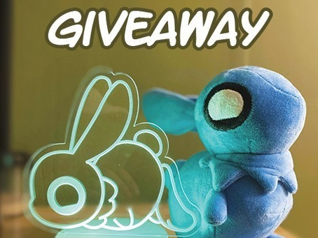 GIVEAWAY~! Bunbun Plush AND 2 Special Bunbun Lamps!! Ends 11/17~