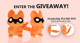 [Completed] Free Giveaway!! Munkchip Plush Toy!!! Ends August 3rd!