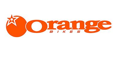 Orange Bikes logo, as sold by Sutton Circuit Bikes, Leicestershire stockist.