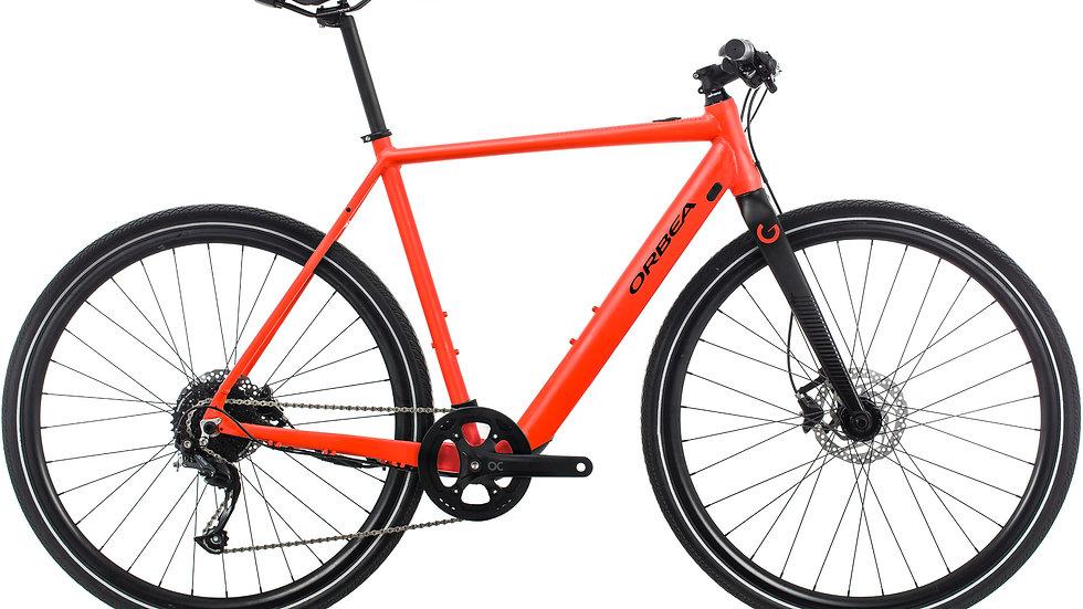 Orbea Gain F40 Electric Flat Bar Bike Red