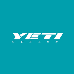 Yeti Cycles logo displayed by Sutton Circuit, Leicestershire dealer of Yeti Cycles.