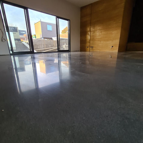 GALAXY Concrete Polishing & Grinding - Minimal Stone exposure - Polished Concrete - Castlemaine Melbourne Victoria