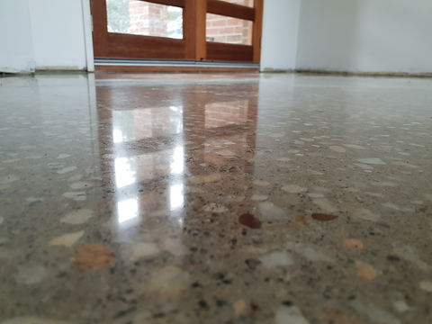 GALAXY Concrete Polishing & Grinding - Polished Concrete - Satin Finish - Geelong Melbourne