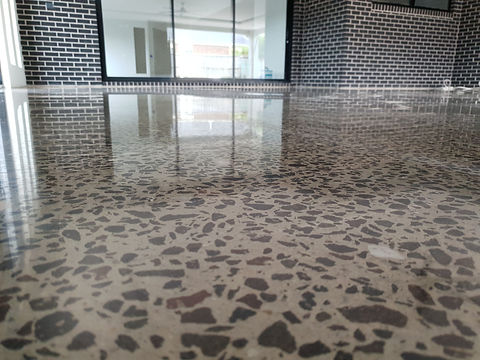GALAXY Concrete Polishing & Grinding | Polished Concrete Semi Gloss finish | Werribee Vic