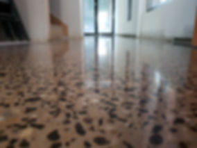 e Polished Concrete | Satin Finish | North Melbourn | GALAXY Concrete Polishing & Grinding