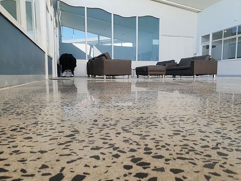 Polished Concrete Matte - College Clayton South Vic GALAXY Concrete Polishing & Grinding