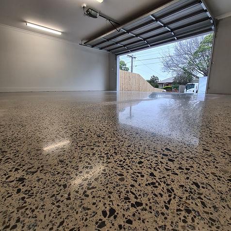 GALAXY Concrete Polishing & Grinding - Polished Concrete - Satin finish - Garage Cheltenham - Victoria
