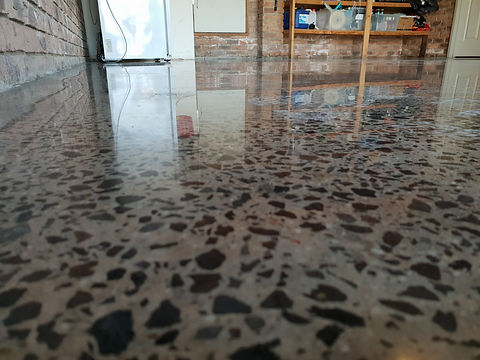 Polished Concrete - Gloss finish - GALAXY Concrete Polishing & Grinding Melbourne