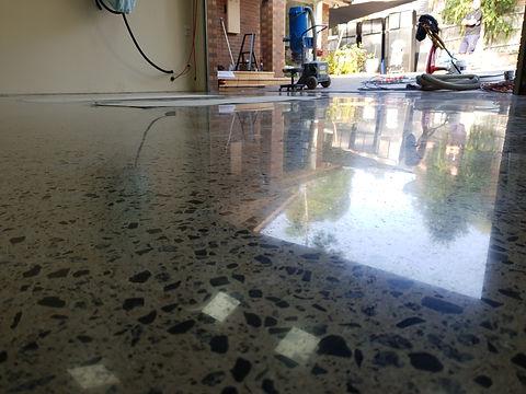 Polished Concrete GALAXY Concrete Polishing - Gloss finish - Ringwood - Melbourne