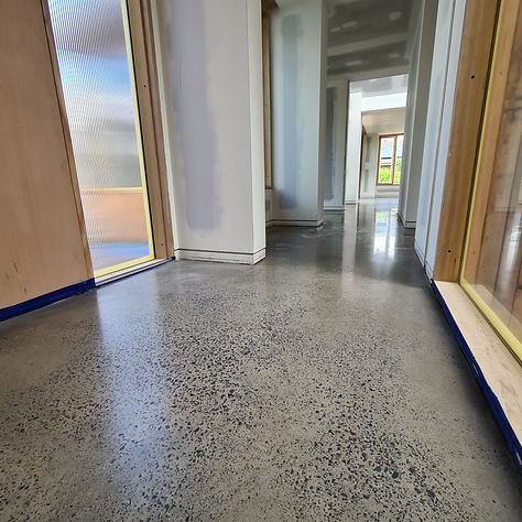 GALAXY Concrete Polishing & Grinding - Polished Concrete in Matte finish - Project in Yarraville VIC for Carland Constructions