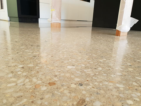 Polished Concrete in Satin Finish - Geel