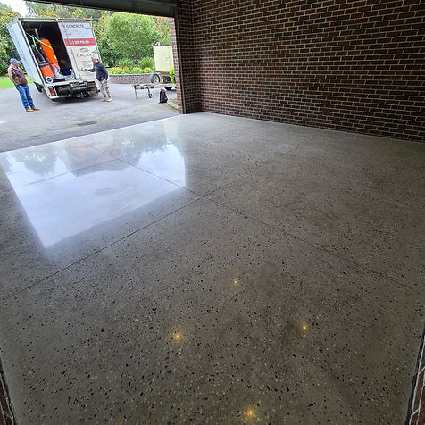 GALAXY Concrete Polishing & Grinding - Polished Concrete - Satin finish - Park Orchards - Eltham Melbourne