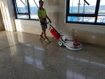 GALAXY Conrete Polishing & Grinding - Polished Concrete Gloss finish - Melbourne
